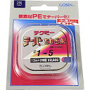 ゴーセン(GOSEN) テクミーテーパー力糸 13m×2本継 1-6号 赤 GT-490R
