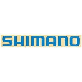 シマノ(SHIMANO) シマノステッカー ST-015B ブルー ST-015B