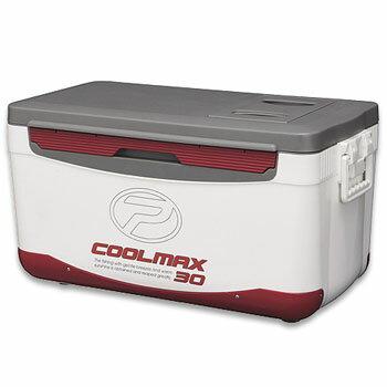プロックス(PROX) フィッシングクーラー クールマックス 約30L ホワイト×レッド CMAX30P
