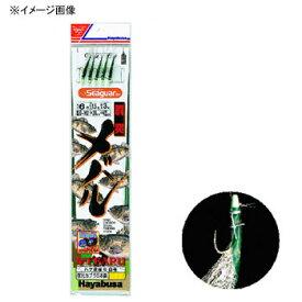 ハヤブサ(Hayabusa) 胴突メバル 夜光カブラ&ハゲ皮緑NF仕様 鈎9/ハリス3 金 D-162