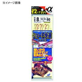 ハヤブサ(Hayabusa) 投げ釣り+α ショート快適 投げ五目 鈎11/ハリス3 金×赤 NT532
