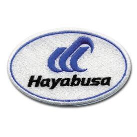 ハヤブサ(Hayabusa) ハヤブサワッペンA1 W90×H56mm ホワイト Y8101H-N-10
