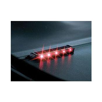 カーメイト(CAR MATE) ナイトシグナル フラットロング レッド SQ86