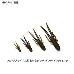 ゲーリーヤマモト(GaryYAMAMOTO)3シュリンプ3インチ318グリーンパンプキン×レッドフレーク