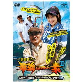 釣りビジョン 家邊克己の最強アジングノ素 2 DVD120分