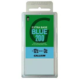 GALLIUM(ガリウム) EXTRA BASE ワックス SW2078 -12度から-3度 全雪質 200g BLUE JA-5639