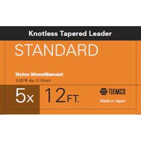ティムコ(TIEMCO) リーダースタンダード 12フィート 5X ステルスグレー