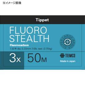 ティムコ(TIEMCO) フロロステルス ティペット 50m 3X ステルスグレー