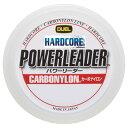デュエル(DUEL) HARDCORE POWERLEADER CN 50m 7号/30lb クリアー H3330