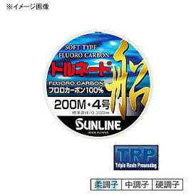 サンライン(SUNLINE) トルネード船 300m 6号 クリア×レッドマーキング×ブラックマーキング