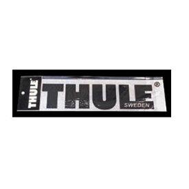 Thule(スーリー) ステッカークロ 15cm ブラック THP-STICKER