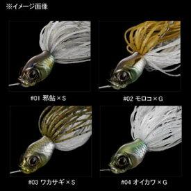 ガンクラフト(GAN CRAFT) キラーズベイト Mini II 3/8oz #03 ワカサギ×S