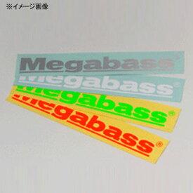 メガバス(Megabass) カッティングステッカー 30cm オレンジ