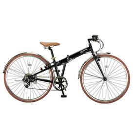 キャプテンスタッグ(CAPTAIN STAG) ブラッシュアップFDB7007BAA 折りたたみ700C自転車 700C ブラック YG-212