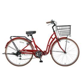 キャプテンスタッグ(CAPTAIN STAG) バレイFDB266 折りたたみ自転車 26インチ エンジ YG-217 【大型商品】
