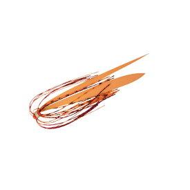 ジャッカル(JACKALL) ビンビン玉 スペアーラバーセット/スライド 艶色オレンジセット TYPE2 104229038400