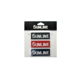 サンライン(SUNLINE) エンブレム3色セット 75×30 ブラック×レッド×ネイビー EM-1018