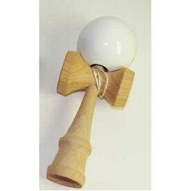 エーワン 木製けん玉 ホワイト D0621-4