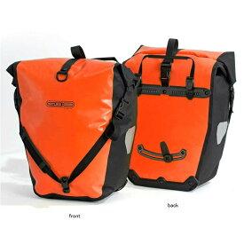 ORTLIEB(オルトリーブ) バックローラークラッシック(ペア) 防水IP64 40L(ペア) オレンジ×ブラック F5306