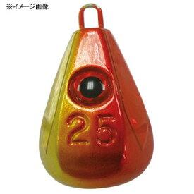 ハヤブサ(Hayabusa) 目玉集魚シンカー ホロフラッシュ 30号 3 アカキン P582