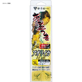 がまかつ(Gamakatsu) お墨付きアオリイカ仕掛 はねあげ式 鈎L/ハリス4 グリーン IK103