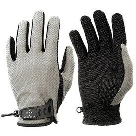 アクシーズクイン(AXESQUIN) M's UV Mesh Glove L ライトグレイ AG6704