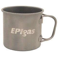 EPI(イーピーアイ)シングルチタンマグカバーセット330mlT-8114