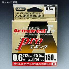 デュエル(DUEL) ARMORED(アーマード) F+ Pro エギング 150M 1号/19lb クリアーオレンジ H4090