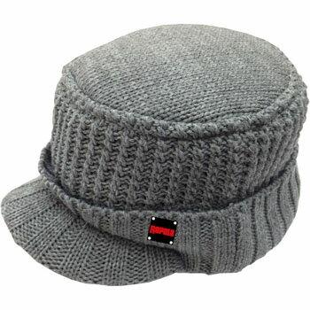 Rapala(ラパラ) Knit & Fleece Visor Work Cap フリー GR(グレー) RC-172GR