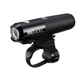 【最大500円クーポン配布中】 キャットアイ(CAT EYE) HL-EL461RC VOLT400 充電式LEDライト ブラック HL-EL461RC
