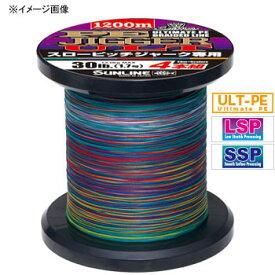 サンライン(SUNLINE) PEジガーULT4本組スローピッチジャーク専用 1200m 1.2号/20lb