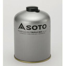 SOTO パワーガス500トリプルミックス SOD-750T