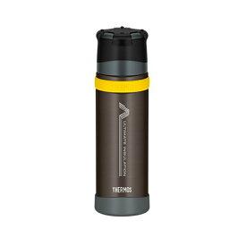 サーモス(THERMOS) FFX-500 登山用ステンレスボトル 山専ボトル 0.5L BK(ブラック)