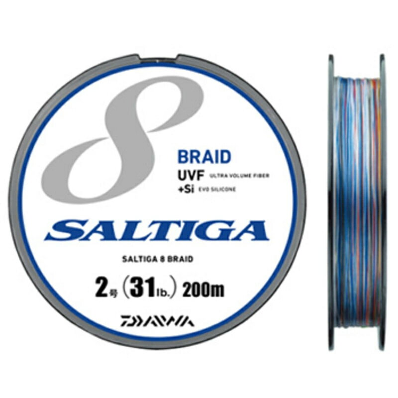 ダイワ(Daiwa) UVF ソルティガセンサー 8ブレイド+Si 200m 2.5号/35lb 04634607