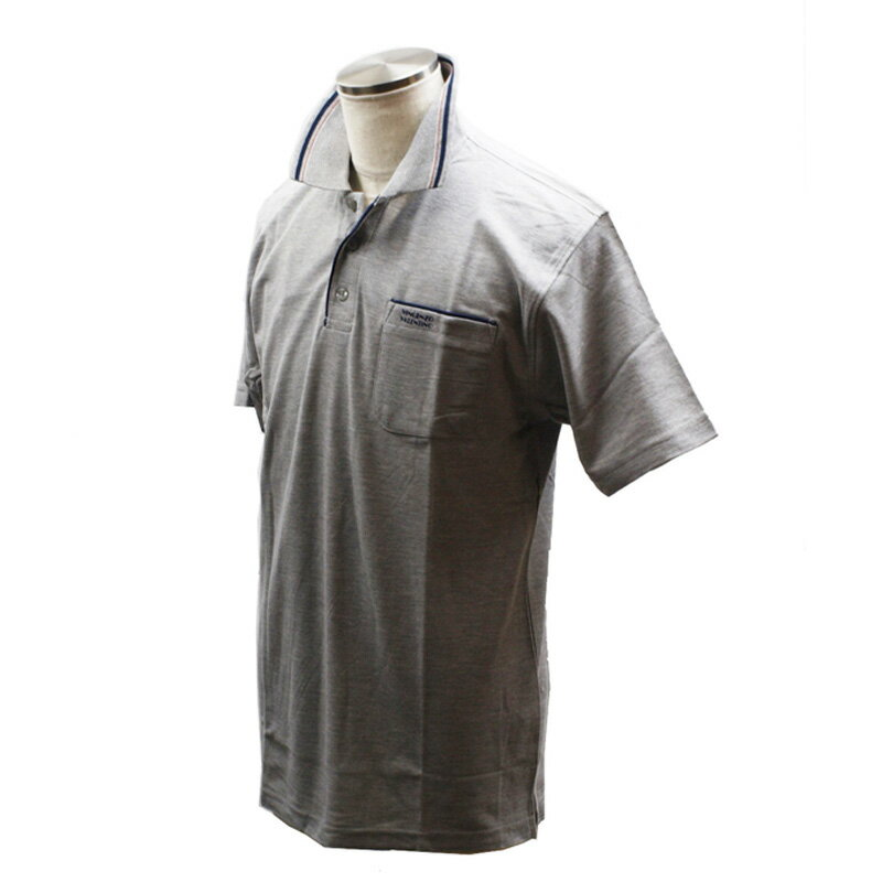 VINCENZO VALENTINO(ヴィンセント ヴァレンティノ) 半袖ポロシャツ LL グレー KH-5163