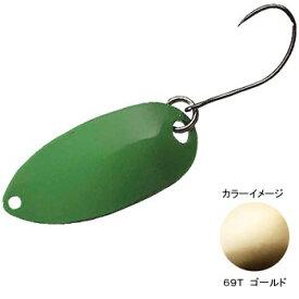 シマノ(SHIMANO) TR-022K カーディフ ロールスイマー 2.2g 69T ゴールド 43668