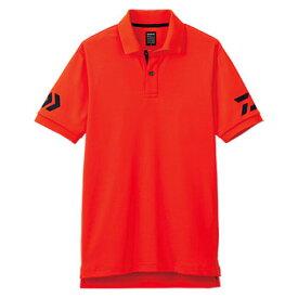 ダイワ(Daiwa) DE-7906 半袖ポロシャツ XL チェリートマト×ネイビー 04518845