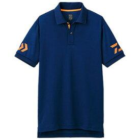 ダイワ(Daiwa) DE-7906 半袖ポロシャツ XL ネイビー×チェリートマト 04518837