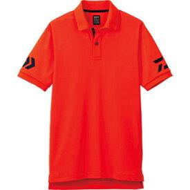 ダイワ(Daiwa) DE-7906 半袖ポロシャツ WL チェリートマト×ネイビー 04518842