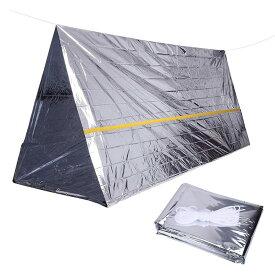 Bush Craft(ブッシュクラフト) 非常用テント シルバー 02-06-tent-0003