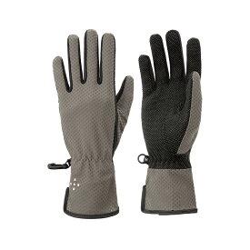 アクシーズクイン(AXESQUIN) Women's UV Mesh Glove Long M G01(グレイ) AG6705