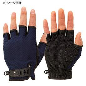 アクシーズクイン(AXESQUIN) UV Mesh Finger Cut Glove L ネイビー AG6707
