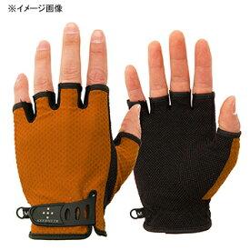 アクシーズクイン(AXESQUIN) UV Mesh Finger Cut Glove S オレンジ AG6707