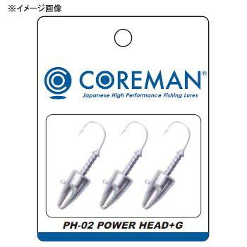 コアマン(COREMAN) PH-02 パワーヘッド+G 4g #201 アンペイント(無塗装)