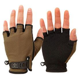 アクシーズクイン(AXESQUIN) UV Mesh Finger Cut Glove XS オリーブ AG6707