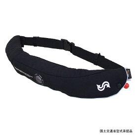 Takashina(高階救命器具) 国土交通省型式承認品腰巻ライフジャケット フリー BLACK BSJ-5220RS