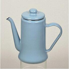 パールライフ(PEARL LIFE) カフェテリア ホーローコーヒーポット 1.1L ブルーグレー HB-2584