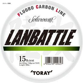 東レモノフィラメント(TORAY) ソラローム ランバトル 100m 12LB ナチュラル S75L