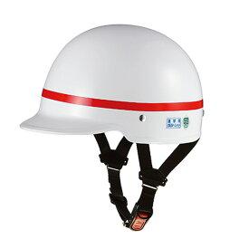 OGK(オージーケー) SN-6 通学用 59cm ホワイト テープ付 レッド 20630630