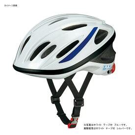 OGK(オージーケー) SN-10 通学用 56〜58cm ホワイト テープ付 シルバー 20632127